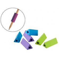 Aide à écrire jpc triangulaire coloris assortis sachet 6...