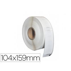 Rouleau 220 étiquettes extra larges 104x159mm