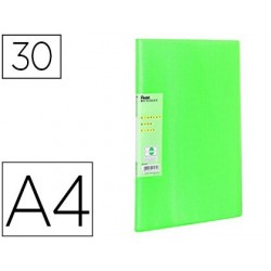 Protège-documents pentel vivid a4 30 pochettes coloris vert