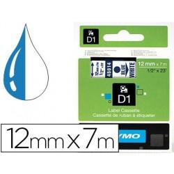 Ruban titreuse dymo électronique standard d1 12mmx7m 31g...