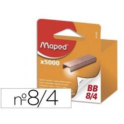 Agrafe maped modèle 8/4 cuivrée épaisseur agrafage 10f...