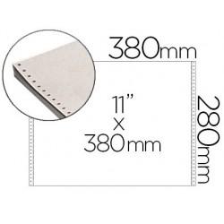 Papier listing 380mmx11' 60g/m2 paquet 2000f