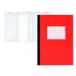 Registre comptable piqué elve 13 colonnes/page 25f 320x250mm