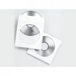 Enveloppe fellowes cd/dvd paquet 100 unités