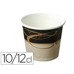 Gobelet en carton préparation chaude 10/12cl paquet 100...