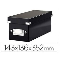 Boîte rangement cd leitz click&store capacité 30 unités...