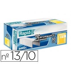 Agrafe rapid modèle 13/10 fil fin acier boîte 5000 unités
