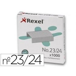 Agrafe rexel 23/24 capacité 220f boîte 1000 unités