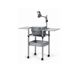 Table rétroprojecteur universelle mobile acier rebord...