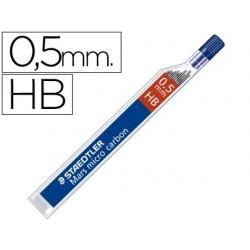 Mine staedtler mars 0.5mm hb micro carbon 250 étui 12 unités