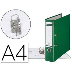 Classeur levier leitz 180 degrés a4 dos 80mm coloris vert