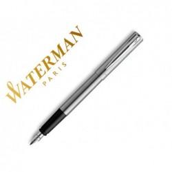Stylo-plume waterman allure chrome plume f avec effaceur...