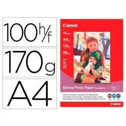 Papier photo canon a4 brillant 170gr/m2 paquet 100 feuilles