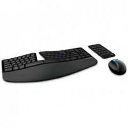 Clavier/ souris ergonomique sculpt microsoft sans fil...