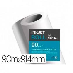Papier clairefontaine surface haute blancheur largeur...