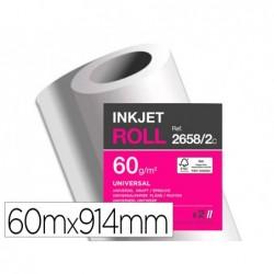 Papier clairefontaine plan extra blanc largeur 60mx914mm...