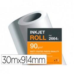 Papier clairefontaine couche brillant largeur 30mx914mm...