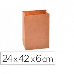 Sachet alimentaire kraft brun 70g/m2 biodegradable...