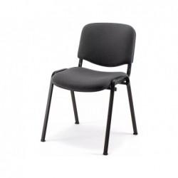 Chaise visteur mt international pied noir anthracite