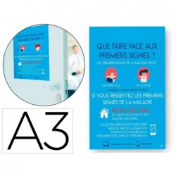 Affiches adhesives avery amovibles symptome a3
