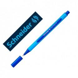 Stylo bille maul shneider slider edge pointe moyenne bleu