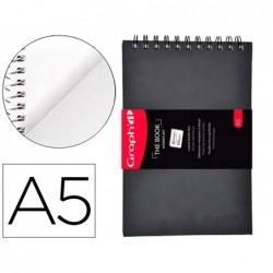 Carnet de dessin graph'it artbook double face a5 80 pages...