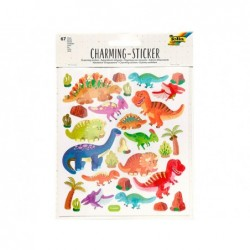Sticker charming folia adventure 15x17cm 2 feuilles...