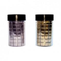 Mosaique en verre culture club 1x1cm bords arrondis pot...