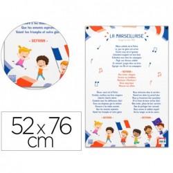 Poster pedagogique la marseillaise enfant bouchut...