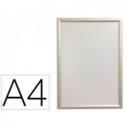 Cadre affichage mural q-connect aluminium format a4...