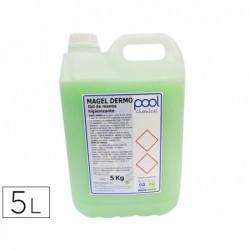 Savon a main nettoyant bactericide carafe de 5 litres