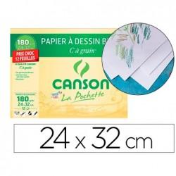 Papier dessin canson c grain prix choc 180g 24x32cm...