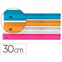 Regle liderpapel 30cm graduee gamme aluminium coloris...