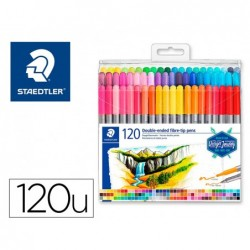 Etui de 120 feutres de coloriage staedtler 3200 design...