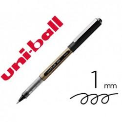 Roller uniball eye pointe metal 1mm encre liquide super...