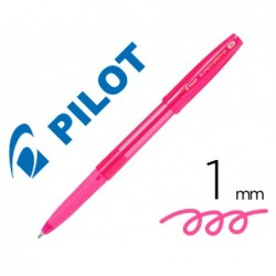 Stylo-bille pilot super grip g neon capuchon pointe...