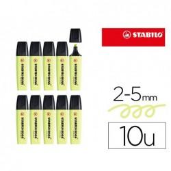 Surligneur stabilo boss original pastel encre base eau...
