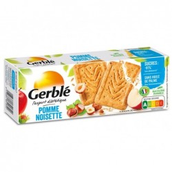 Biscuits gerble pomme noisette 57.5g
