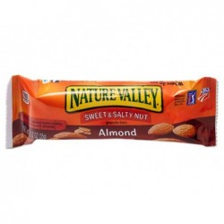 Barre de cereales nature valley sweet & salty amandes 30g