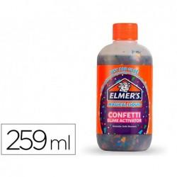 Liquide magique pour slime elmers confetti flacon 259ml