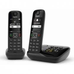 Telephone sans fil gigaset as690a duo