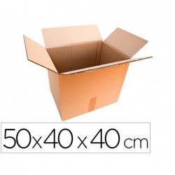 Caisse americaine lne3.02 carton triple cannelure 50x40x40cm