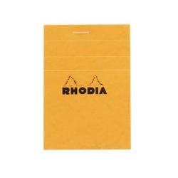 Bloc Rhodia 80g 5x5 A7 74x105mm