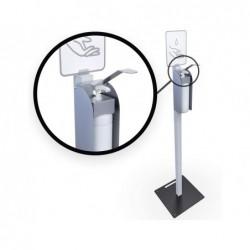 Borne de desinfection hps avec distributeur de gel...