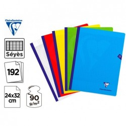 Cahier broche clairefontaine mimesys cousu couverture...