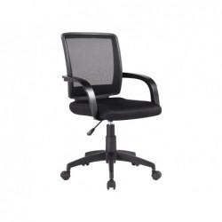Chaise bureau q-connect rotative base nylon maille...