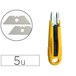Lames q-connect cutter blister 5 unites pour kf14624
