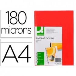 Plat couverture q-connect pvc 180 microns a4 relieurs...