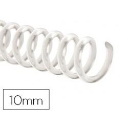 Spirale q-connect plastique transparent relieur pas 32...