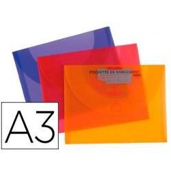 Pochette rangement canson polypropylène rigide dessin a3...